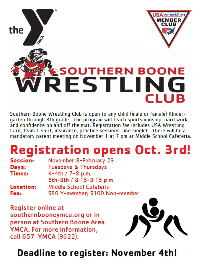 Wrestling Flyer