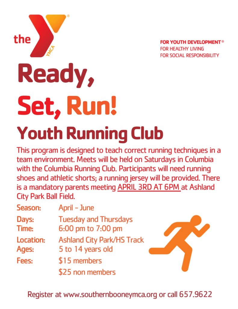 southern boone youth running club
