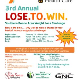 3rd Annual – Lose.To.Win Weight Loss Challenge