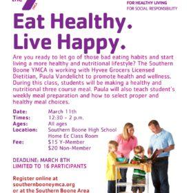Eat Healthy – Live Happy