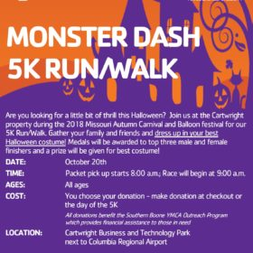 Monster Dash 5k Run/Walk