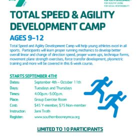 Total Speed & Agility Development Camp