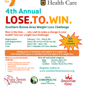 4th Annual – Lose.To.Win Weight Loss Challenge