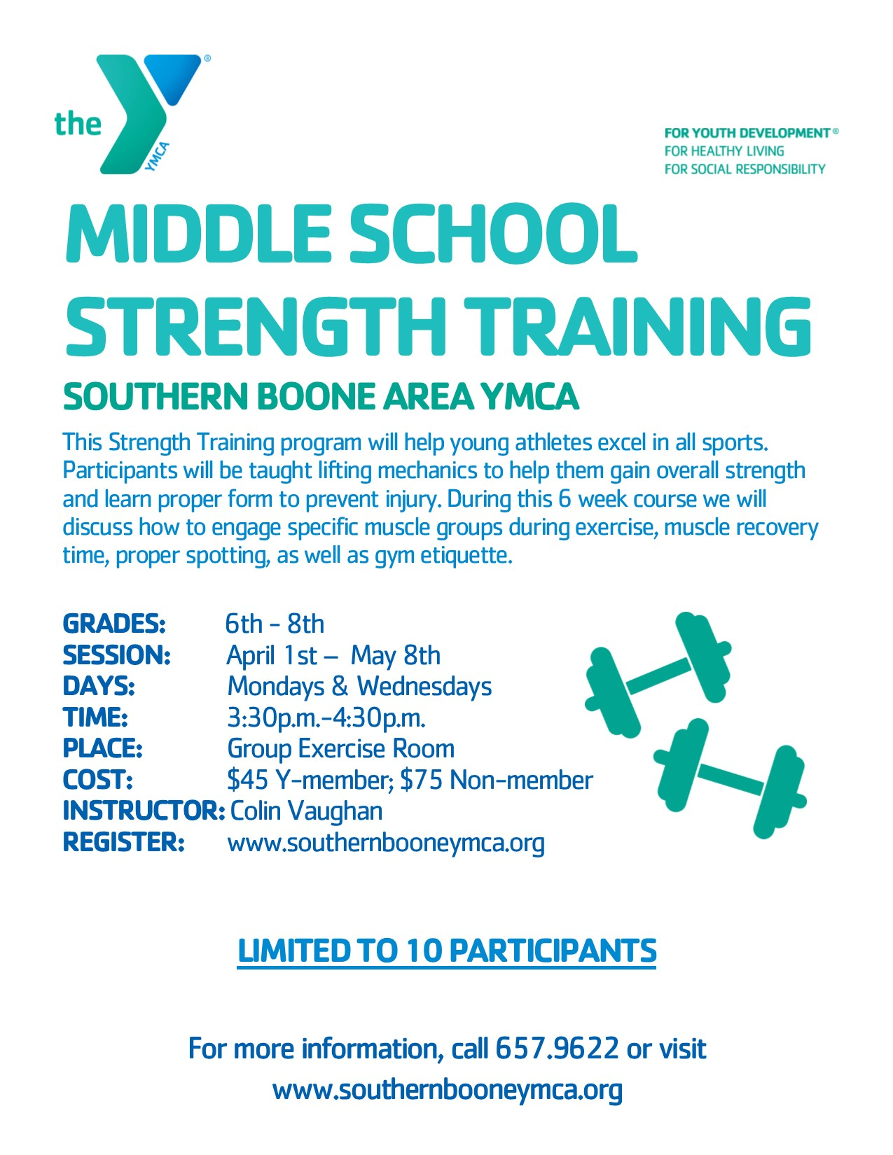 Middle School Strength Training